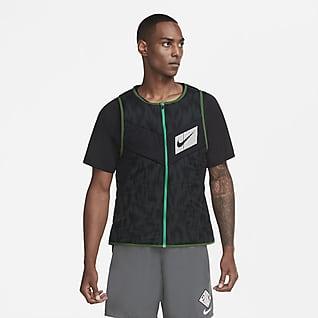 Nike Aerolayer Wild Run Veste de running sans manches pour Homme