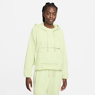 Nike Dri-FIT Swoosh Fly Standard Issue Sudadera con capucha de básquetbol sin cierre para mujer