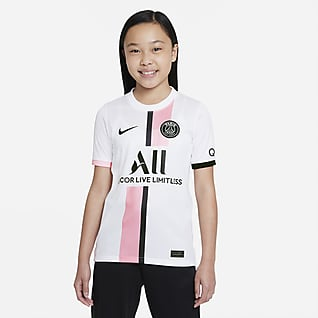 Paris Saint-Germain 2021/22 Stadium Away Nike Dri-FIT futballmez nagyobb gyerekeknek
