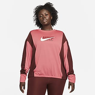Nike Dri-FIT Icon Clash Mellanlagertröja för kvinnor (Plus Size)