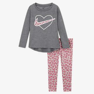Nike Conjunto de camisola e leggings para bebé