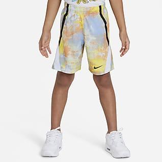 Nike Dri-FIT Little Kids' Tie-Dye Shorts