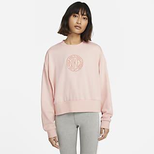 Nike Sportswear Femme Damen-Rundhalsshirt