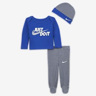 Nike Baby (Preemie-9M) 3-Piece Set