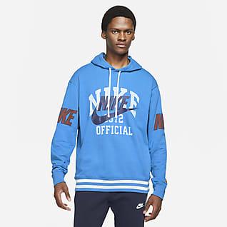 Nike Sportswear Felpa pullover in French terry con cappuccio - Uomo