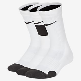 Nike Elite Kids' Basketball Crew Socks (3 Pairs)