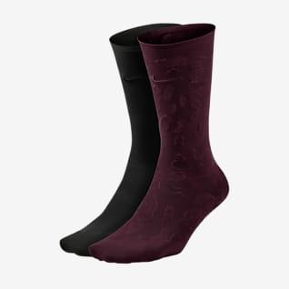 Nike Calcetines hasta el tobillo de entrenamiento (2 pares) - Mujer