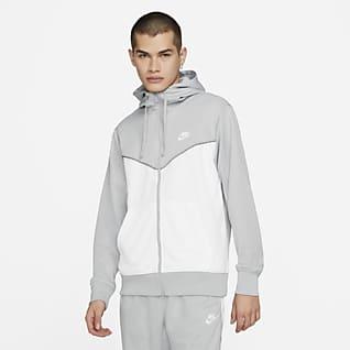 Nike Sportswear Pánská mikina s kapucí a zipem po celé délce