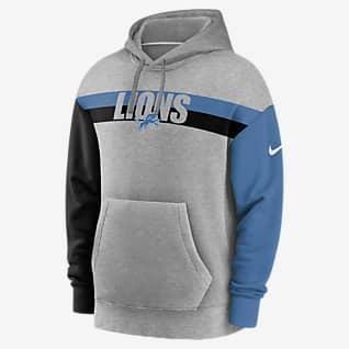 Nike Wordmark (NFL Lions) Men's Hoodie