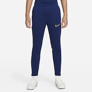 Nike Dri-FIT Academy Calças de futebol de malha Júnior