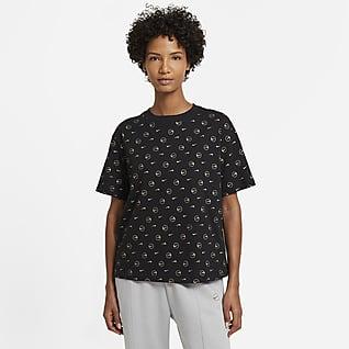 Nike Sportswear T-shirt damski z nadrukiem