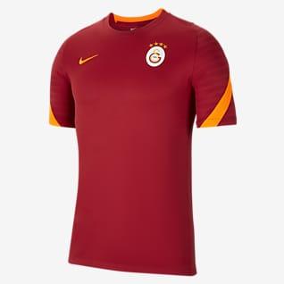 Galatasaray Strike Nike Dri-FIT Kısa Kollu Erkek Futbol Üstü