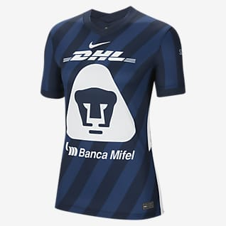 Pumas UNAM 2020/21 Stadium de visitante Camiseta de fútbol para mujer