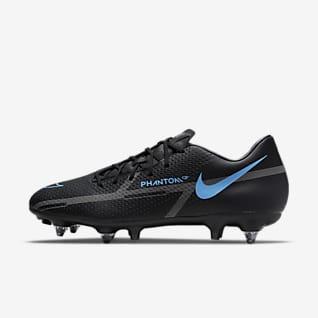 Nike Phantom GT2 Academy SG-Pro AC Fußballschuh für weichen Rasen