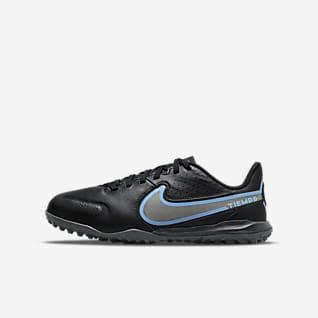 Nike Jr. Tiempo Legend9 Academy TF Chaussure de football pour surface synthétique pour Jeune enfant/Enfant plus âgé