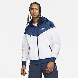 Nike Sportswear Heritage Essentials Windrunner Men's Hooded Woven Jacket
