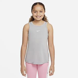 Nike Dri-FIT One Big Kids' (Girls') Tank