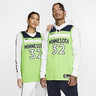 Karl-Anthony Towns Timberwolves Statement Edition Nike NBA Swingman Jersey
