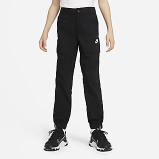 Nike Sportswear Older Kids' (Boys') Woven Cargo Trousers
