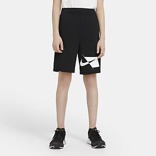 Nike Dri-FIT กางเกงเทรนนิ่งขาสั้นเด็กโต (ชาย)