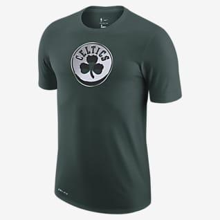 Boston Celtics Earned Edition Nike Dri-FIT NBA-T-skjorte med logo til herre