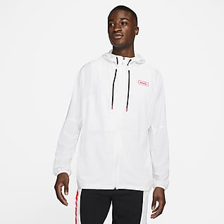 Nike Sport Clash Chamarra de entrenamiento con cierre completo para hombre