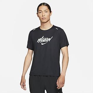 Nike Rise 365 Wild Run เสื้อวิ่งแขนสั้นผู้ชาย
