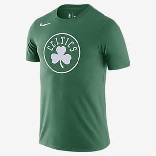 Boston Celtics Pánské tričko Nike Dri-FIT NBA slogem