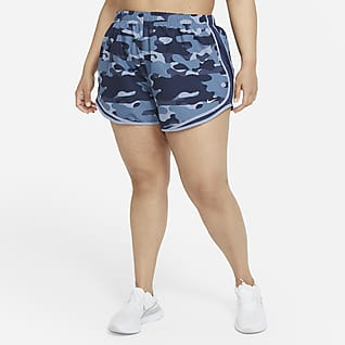 Nike Dri-FIT Tempo Shorts de running estampados para mujer (talla grande)