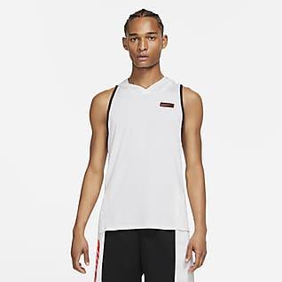 Nike Sport Clash Trainings-Tanktop mit Kapuze für Herren