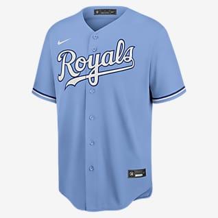 MLB Kansas City Royals (Whit Merrifield) Men's Replica Baseball Jersey