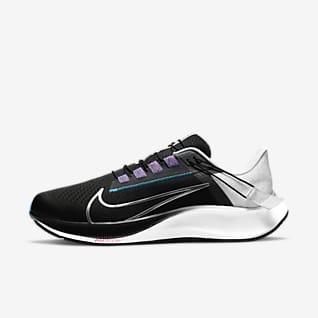 Nike Air Zoom Pegasus 38 FlyEase Мужская удобная обувь для бега по шоссе (на очень широкую ногу)
