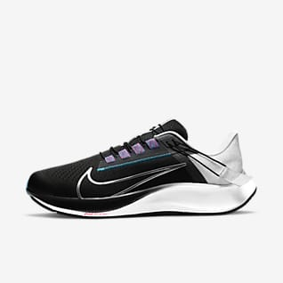 Nike Air Zoom Pegasus 38 FlyEase Men's Easy On/Off Road Running Shoes (Wide)