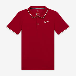 NikeCourt Dri-FIT Polo de tenis - Niño
