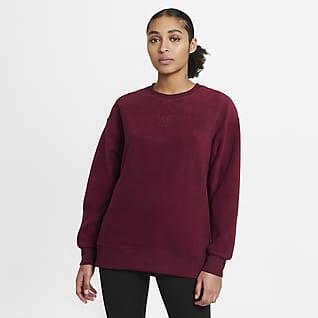 Nike Therma Prenda para la parte superior de entrenamiento de tejido Fleece para mujer