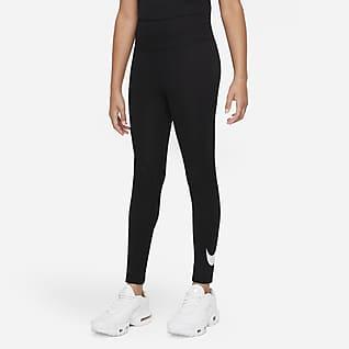 Nike Sportswear Favorites Big Kids' (Girls') Graphic High-Waisted Leggings