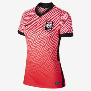 Camisola de futebol do equipamento principal Camisola de futebol para mulher