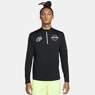 Nike Dri-FIT Chicago Element Men's 1/2-Zip Finisher Running Top