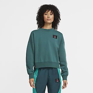 Jordan Flight Camiseta de tejido Fleece - Mujer