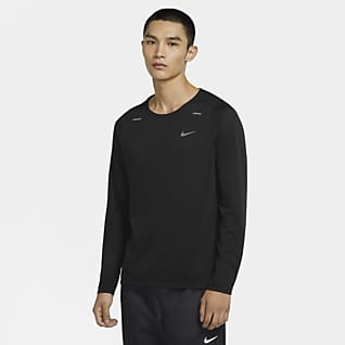 Nike Rise 365 男子长袖跑步上衣