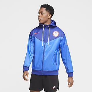 Windrunner Nike Sportswear Team USA Chamarra con capucha de tejido Woven para hombre
