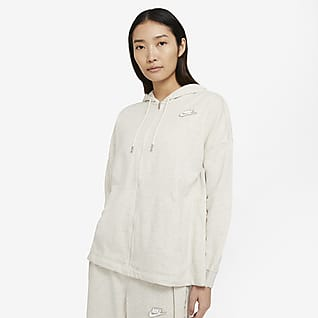 Nike Sportswear เสื้อมีฮู้ดซิปยาวผู้หญิง