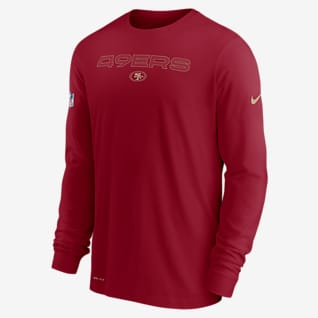 Nike Dri-FIT Sideline Team Issue (NFL San Francisco 49ers) Men's Long-Sleeve T-Shirt