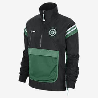 Celtics Courtside Women's Nike NBA Tracksuit Jacket