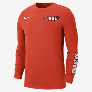 Nike College Dri-FIT (Oregon State) Men's Long-Sleeve T-Shirt