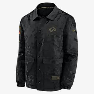 Nike Logo Salute to Service (NFL Los Angeles Rams) Men's Jacket