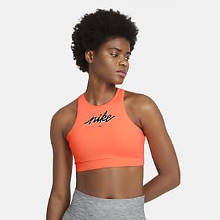 Nike Swoosh Bra deportivo con almohadilla de sujeción media para mujer