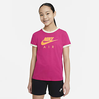 Nike Air Playera para niña talla grande