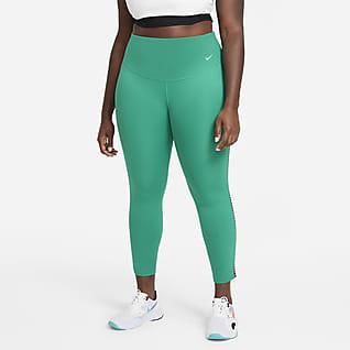 Nike One Rainbow Ladder Leggings de 7/8 para mujer (talla grande)