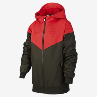 Portugal Windrunner Куртка из тканого материала для школьников